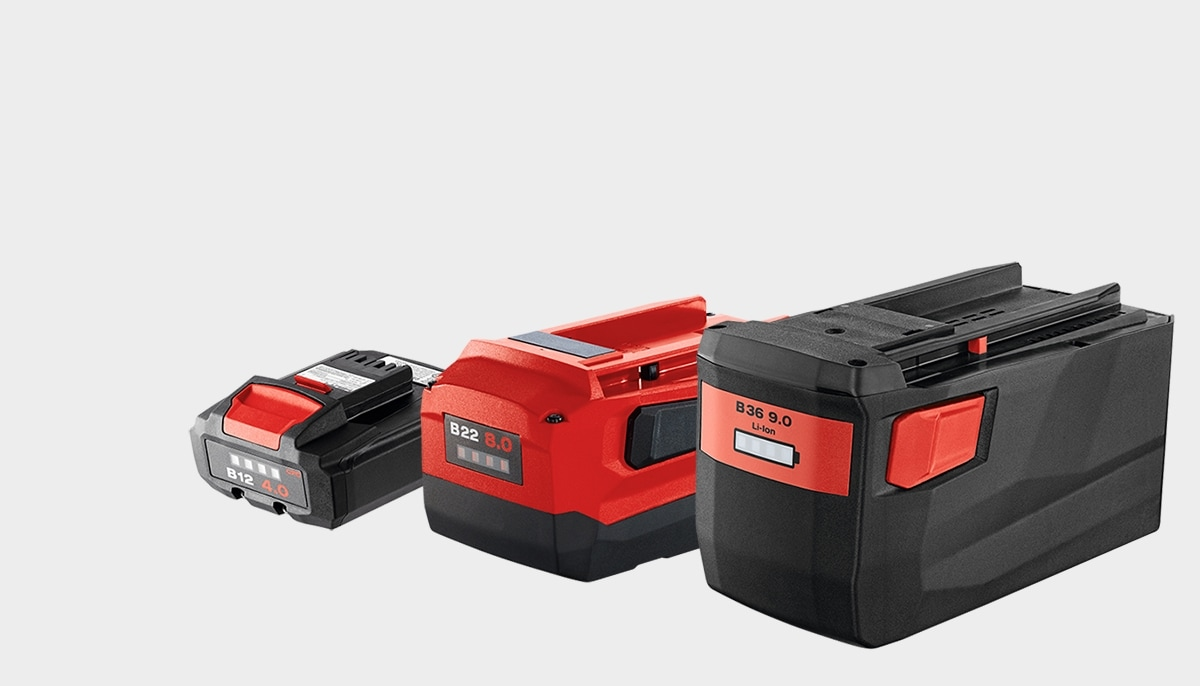 Selecting the right battery for your Hilto cordless tool