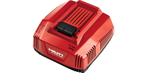 Hilti range of battery charges