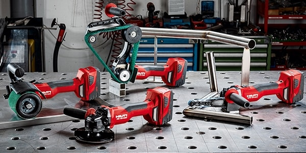 CORDLESS SOLUTIONS FOR METAL FINISHING