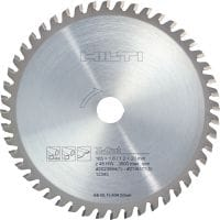 Stainless steel and steel cutting Ultimate circular saw blade for straight, faster, cold cutting in steel and stainless steel