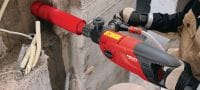 SPX-L hand-held (BI) Ultimate hand-held core bit for all types of concrete – for low-power tools (<2.5 kW), Hilti BI connection end Applications 2