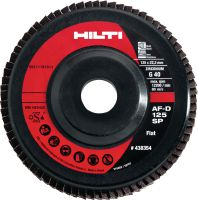 AF-D SP-line Ultimate flap disc for light grinding