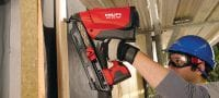 GX-WF galvanized smooth Galvanised, smooth framing nail for fastening wood to wood with the GX 90-WF nailer Applications 2