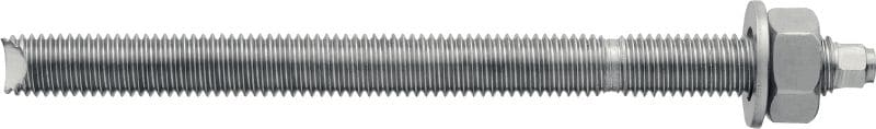 HAS-R High-performance anchor rod with hexagonal head for adhesive capsules (A4 stainless steel)