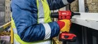 RT 6-A22 22V cordless rivet tool powered by Li-ion batteries for installation jobs and industrial production using rivets up to 4.8 mm in diameter (up to 5.0 mm for aluminium rivets) Applications 1