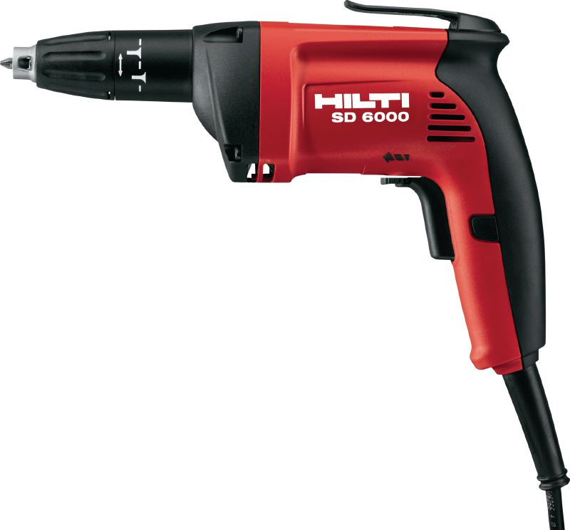 SD 6000 Corded high-speed drywall screwdriver with 6000 rpm for drywall applications