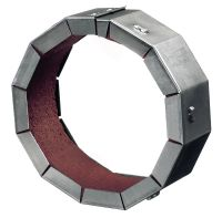 CFS-C P Premium firestop collar ETA-compliant retrofit premium firestop collar to help create a fire and smoke barrier around existing pipes between 50-250 mm