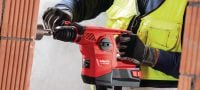 TE 30-A36 High-performance cordless combihammer featuring brushless motor and Active Torque Control Applications 4