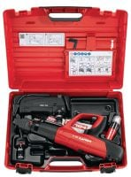 DX 5 Kit Digitally enabled fully automatic powder-actuated tool kit for high productivity and versatility, several versions in 1 kit