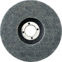 AN-D Non-woven discs with backing - SPX Ultimate Ultimate non-woven grinding discs with fibre backing (Type 27) for finishing stainless steel, aluminium and other metals