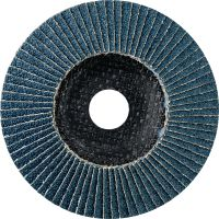 AF-D Flap discs - SPX Ultimate Ultimate fibre-backed convex flap discs for rough to fine grinding of stainless steel, steel and other metals