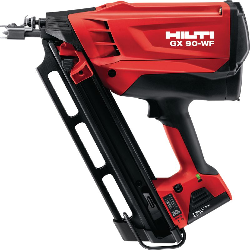 GX 90-WF Gas nailer developed specifically for wood framing applications