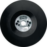 AB-P Backing pads for fiber discs Angle grinder backing pads for use with fibre discs of various grain sizes