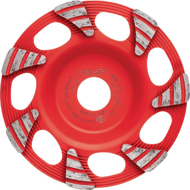 SPX universal Ultimate diamond cup wheel for angle grinders – for faster grinding of concrete, screed and natural stone