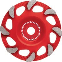 SPX fine finish Ultimate diamond cup wheel for the DG 150 diamond grinder – for finishing grinding concrete and natural stone
