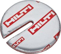 CFS-D 25 Firestop cable disc Self-adhesive discs of firestop putty for single cables and bundles in openings up to 25 mm
