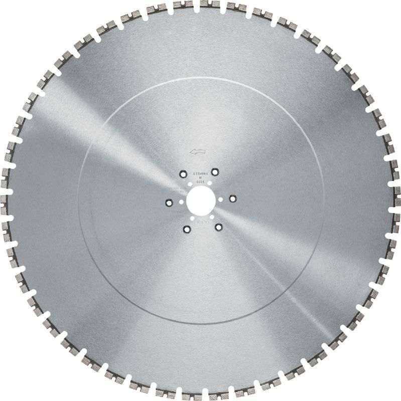 LCS Equidist-60Y/Tyrolit Longer-lasting, high-speed blade for 5-10 kW wall saws