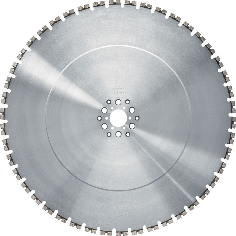 MCS Equidist-60HY/Hilti and Tyrolit Longer-lasting, high-speed blade for 15 kW wall saws
