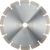 P Universal Standard diamond segmented cutting blade for gas saws, angle grinders and electric cutters, for cutting concrete, masonry and other materials