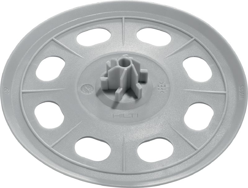 X-SW 60 MX Soft washer for use with collated nails to attach waterproofing membrane to concrete or masonry