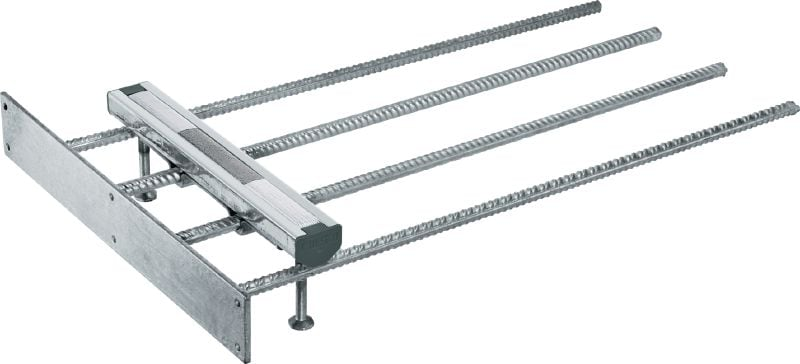 Top-of-Slab HAC solutions Cast-in anchor channels in standard sizes and lengths for top-of-slab installations