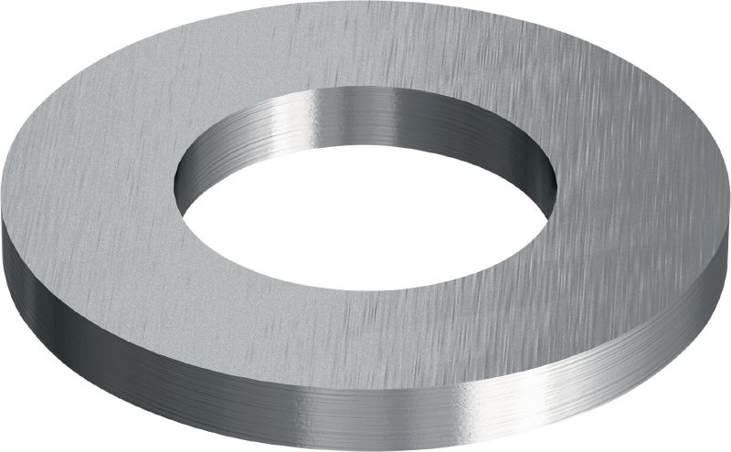 Stainless steel (A4) flat washer ISO 7089 Stainless steel (A4) flat washer corresponding to ISO 7089
