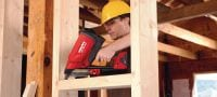 GX 90-WF Gas nailer developed specifically for wood framing applications Applications 2