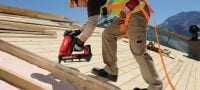 GX 90-WF Gas nailer developed specifically for wood framing applications Applications 1