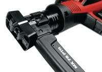 DX 76-PTR Semi-automatic, heavy-duty powder-actuated fastening tool for driving collated nails on steel structures