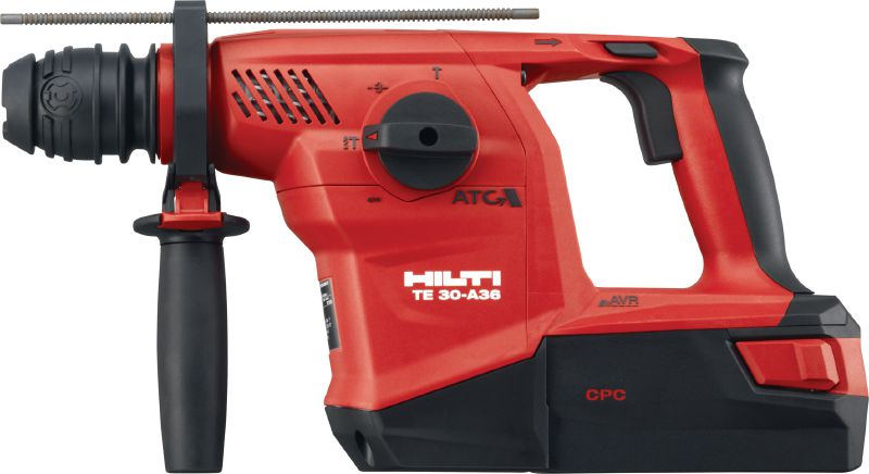 TE 30-A36 High-performance cordless combihammer featuring brushless motor and Active Torque Control