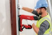 BX 3-L 02 22V cordless nailer for interior finishing applications Applications 4