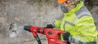 TE 60-A36 High-performance cordless SDS Max combihammer with Active Vibration Reduction and Active Torque Control for heavy-duty drilling and chiselling in concrete Applications 4