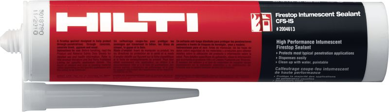 CFS-IS Firestop intumescent sealant