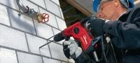 TE 7 Compact and lightweight D-grip SDS Plus (TE-C) rotary hammer Applications 2
